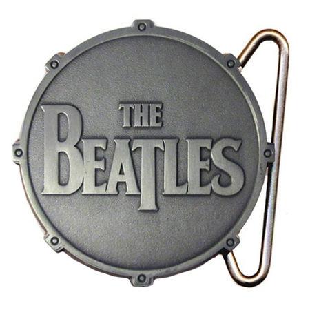 The Beatles: All Metal Drum Buckle