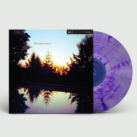 The Men: Mercy: Limited Edition Blue + Purple Splatter Vinyl