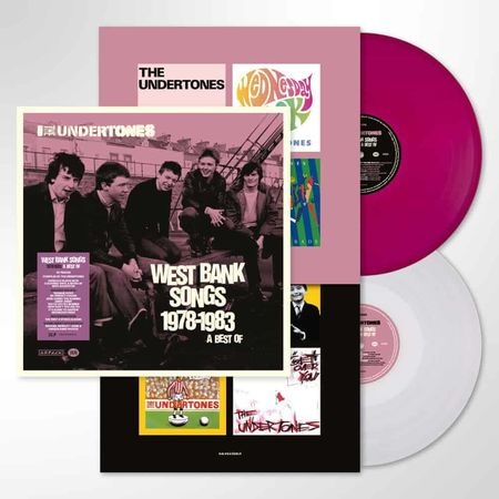 The Undertones: West Bank Songs 1978-1983 A Best Of: Limited Edition Purple & White Vinyl