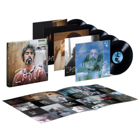 Frank Zappa: ZAPPA (Original Motion Picture Soundtrack): Deluxe Black Vinyl 5LP Box Set