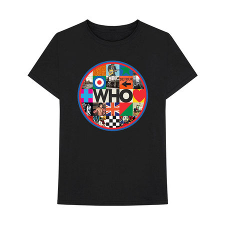 The Who: Album Circle T-Shirt