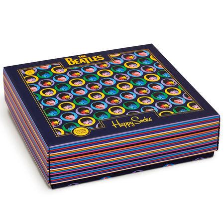 The Beatles: Happy Socks Gift Box 3 Pack Medium/Large