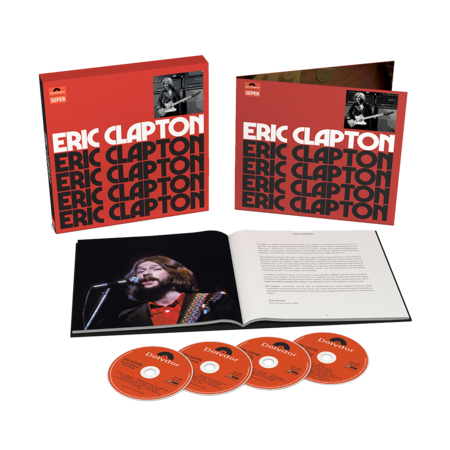 Eric Clapton: Eric Clapton: Anniversary Deluxe Edition 4CD
