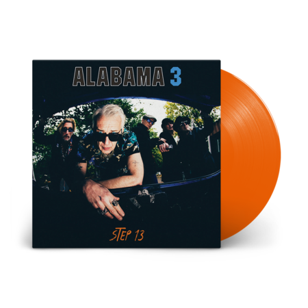 Alabama 3: Step 13: Limited Edition Orange Vinyl LP + Signed Art Print
