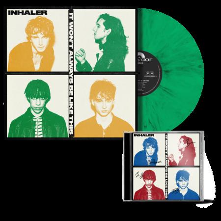 Inhaler: IT WON'T ALWAYS BE LIKE THIS: LIMITED EDITION IRISH GREEN VINYL + SIGNED CD