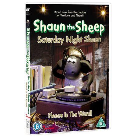 Shaun the Sheep: Saturday Night Shaun DVD