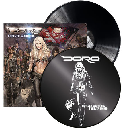 Doro: Forever Warriors: Limited Edition Gatefold Vinyl + Signed Photocard