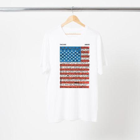The 1975: I LIKE AMERICA AND AMERICA LIKES ME T-SHIRT