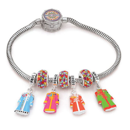 The Beatles: 925 Sterling Silver Sgt. Pepper Limited Edition Bracelet
