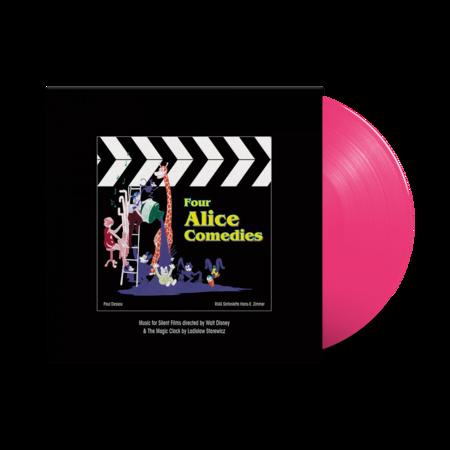 Original Soundtrack: Four Alice Comedies: Limited Edition Pink Vinyl