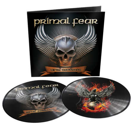 Primal Fear: Metal Commando Limited Edition Gatefold Double Picture Disc + Signed Photocard