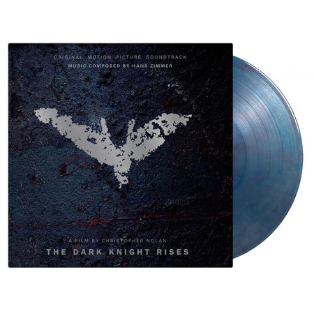 Original Soundtrack: The Dark Knight Rises: Limited Edition Clear, Blue & Red Marbled Vinyl