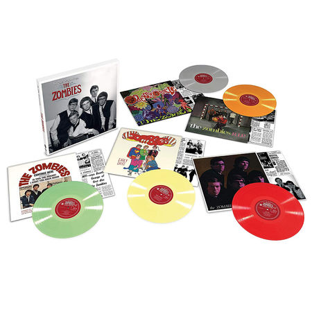 The Zombies: In The Beginning: Colour Vinyl Box Set