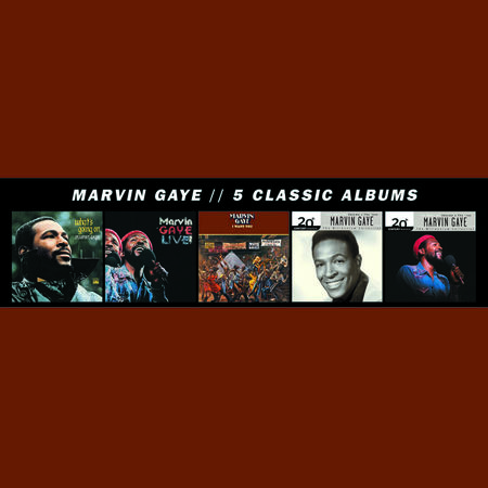 Marvin Gaye: 5 Classic Albums (5CD)