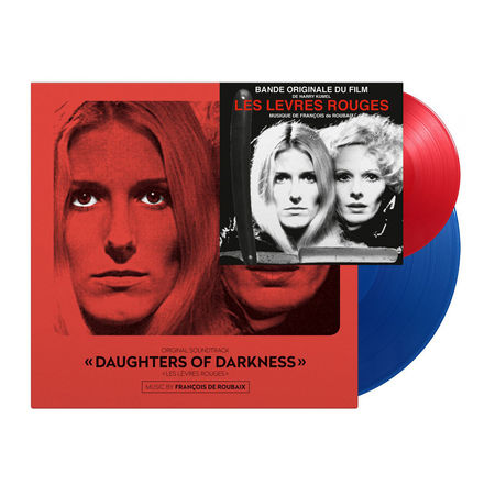 Various Artists: Daughters Of Darkness: Limited Edition Blue Vinyl LP + Red Vinyl 7