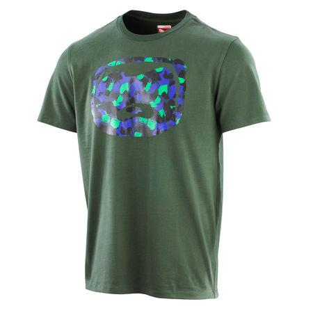 Professor Green: Honey Badger Camo T-shirt Deep Forest