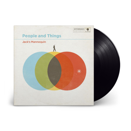 Jack's Mannequin: People and Things: Black Vinyl 1LP