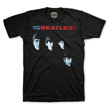 The Beatles: Meet The Beatles T-Shirt - Small