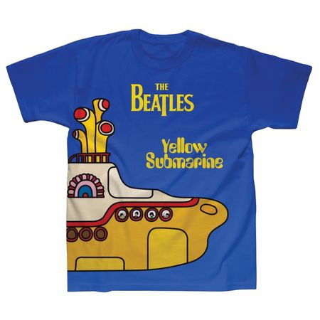The Beatles: Yellow Submarine Cover Sublimination T-Shirt