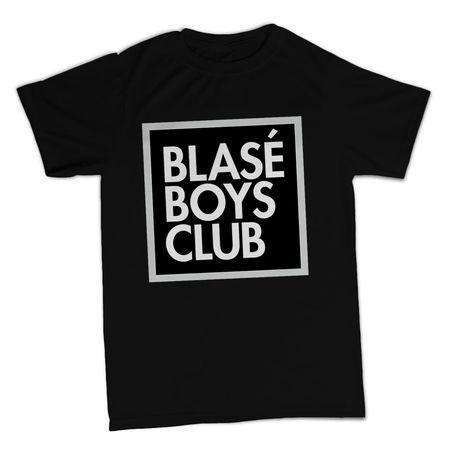 Blasé Boys Club: Blasé Boys Club Black T-Shirt - Small