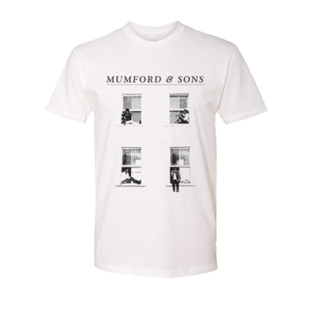 Mumford & Sons : Window Boxes T-shirt