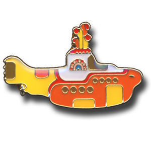 The Beatles: Yellow Submarine Pin Badge - Medium