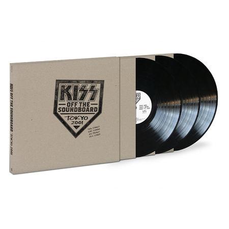 Kiss: Off The Soundboard: Tokyo Dome – Tokyo, Japan 3/13/2001: Triple Vinyl