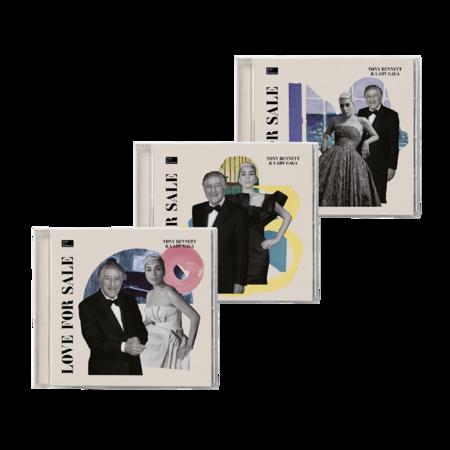 Tony Bennett & Lady Gaga: LOVE FOR SALE ALT CD BUNDLE