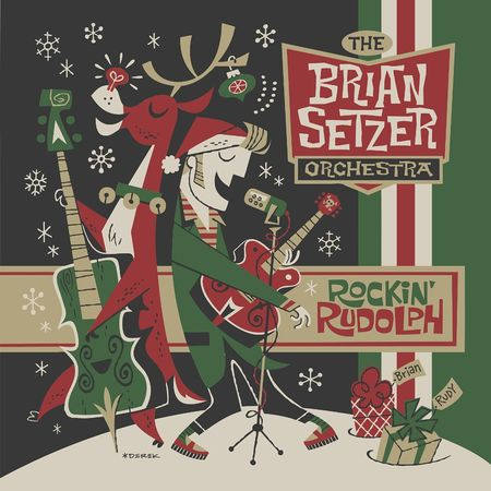 The Brian Setzer Orchestra: Rockin' Rudolph (CD)