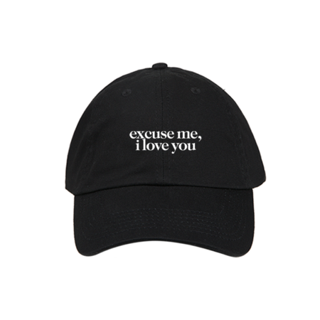 Ariana Grande: excuse me, I love you dad hat