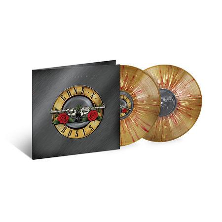 Guns N' Roses: Greatest Hits: Gold, White + Red Splatter Vinyl