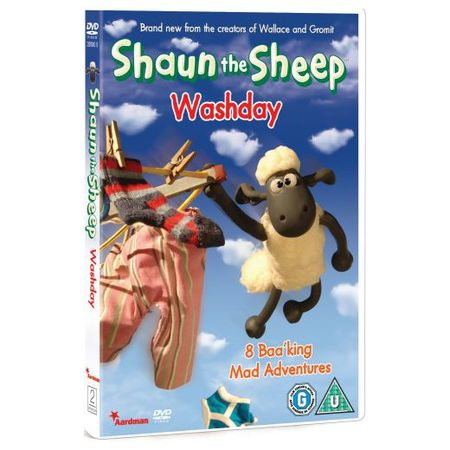 Shaun the Sheep: Wash Day DVD