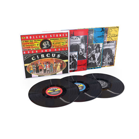 The Rolling Stones Rock And Roll Circus Triple Vinyl