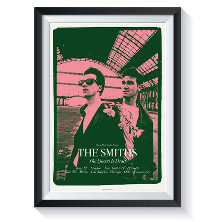 The Smiths: The Queen Is Dead: Classic Album Sundays Screen Print