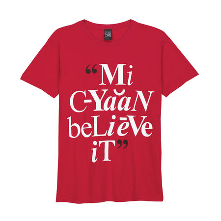 Island Records: Mi C Yaan Believe It T-Shirt