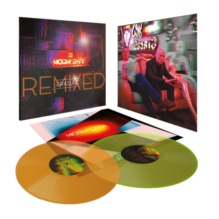 Erasure: The Neon Remixed: Limited Edition Transparent Amber/Yellow Glow Vinyl