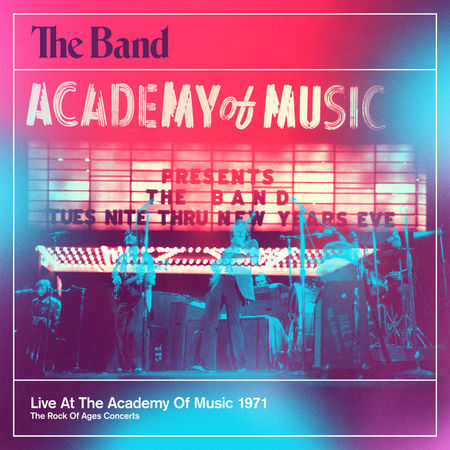 The Band: Live At The Academy Of Music (4CD + DVD)