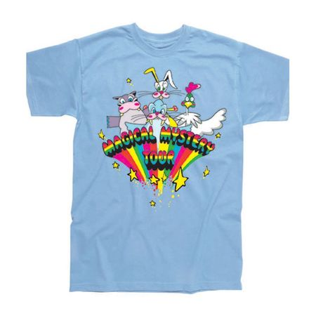 The Beatles: Magical Mystery Tour Childrens T-Shirt Baby Sky Blue