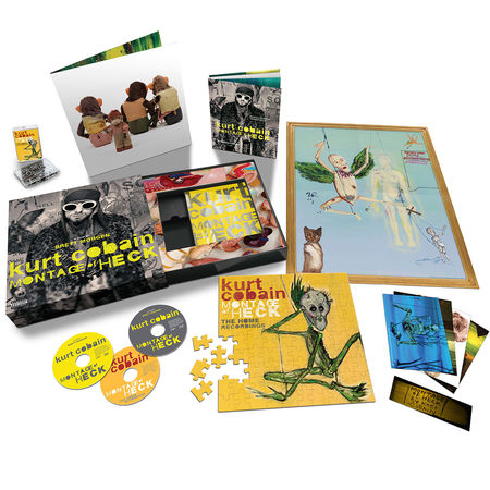 Kurt Cobain: Montage Of Heck (Super Deluxe (CD/DVD/Blu-Ray/Cassette)
