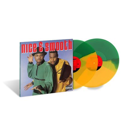 Nice & Smooth: Nice & Smooth (2LP) (Green/Yellow Marbled)