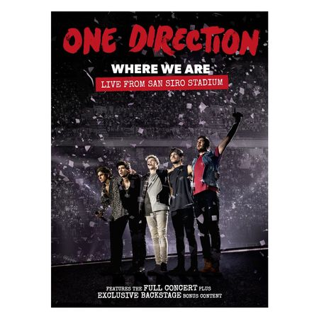 One Direction: Where We Are: Live From San Siro Stadium (DVD)