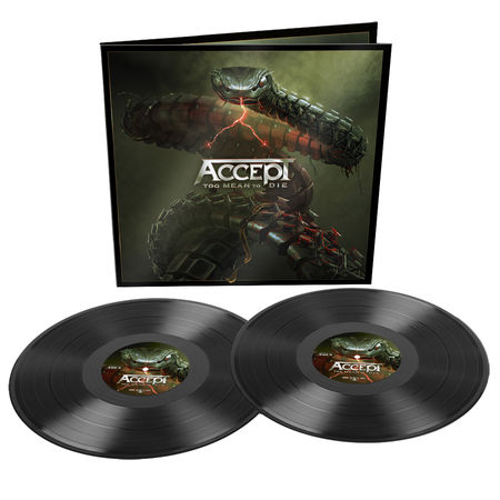 Accept: Too Mean To Die: Limited Edition Gatefold Double Vinyl + Signed Photocard