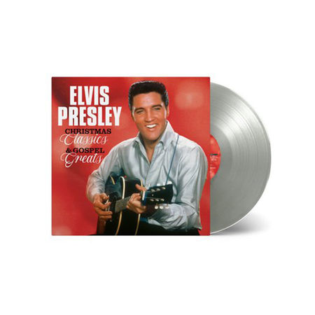 Elvis Presley: Christmas Classics and Gospel Greats: Limited Edition Silver Vinyl