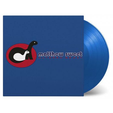 Matthew Sweet: Altered Beast: Limited Edition Transparent Blue Vinyl LP