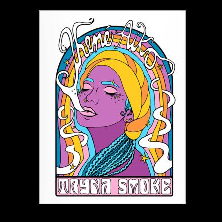 Jhene Aiko: TRYNA SMOKE POSTER