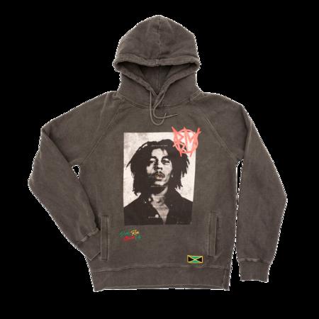 Bob Marley: Washed Anarchy Hoodie