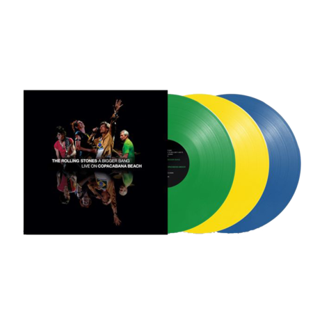 The Rolling Stones: 'A Bigger Bang' Live On Copacabana Beach: Limited Edition Vinyl 3LP