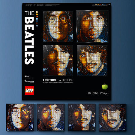 The Beatles: LEGO Art: The Beatles