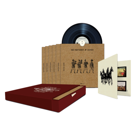 "Mumford & Sons : Sigh No More Limited Edition 7"" Boxset"