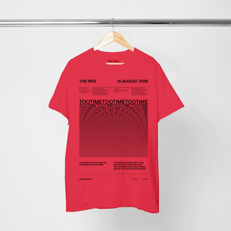 The 1975: TOOTIME T-SHIRT IV